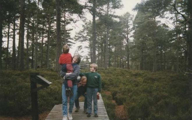 The family, circa 1983